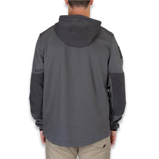 5.11 Tactical Sierra Softshell jacket, שחור 78018-258