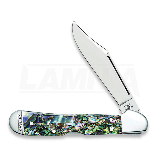 Saliekams nazis Case Cutlery Mini Copperlock Abalone 12020