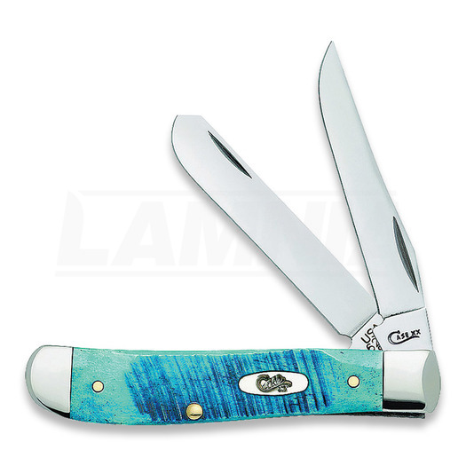 Briceag Case Cutlery Mini Trapper Caribbean Blue 25593