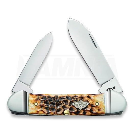 Liigendnuga Case Cutlery Canoe Burnt Amber 80258