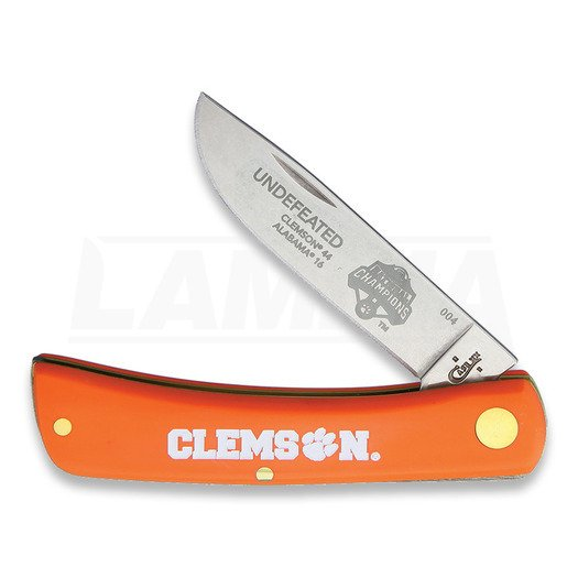 Складний ніж Case Cutlery Sod Buster Jr Clemson Champ CU1880502