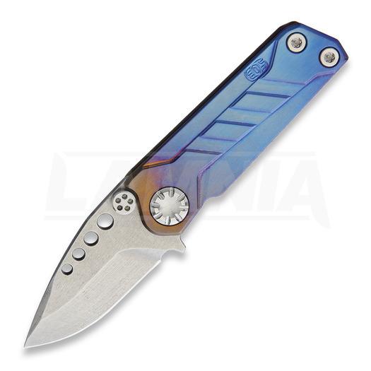 EOS Prawn Folder Anodized Spear sulankstomas peilis