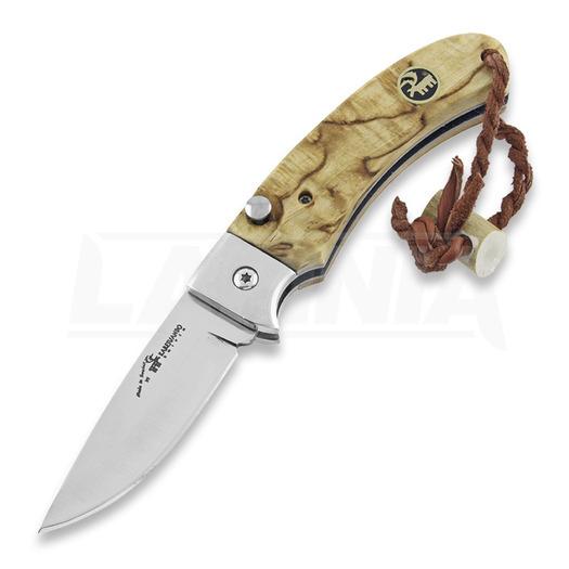 Karesuando Nallo 2018 folding knife, natural