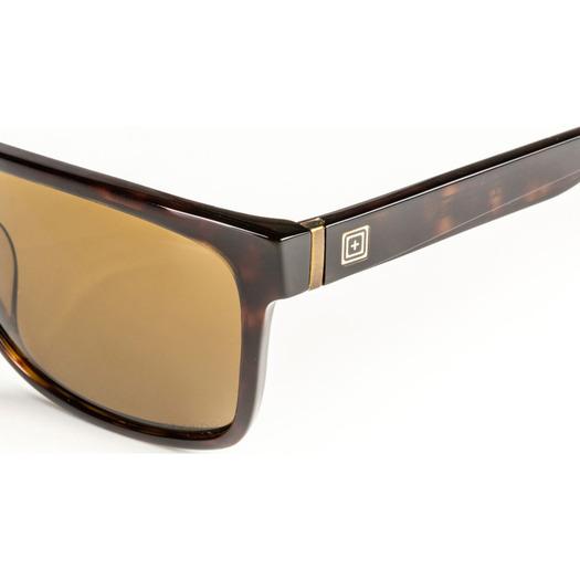 5.11 Tactical Daybreaker Brown Tortoise Polarized Sunglasses