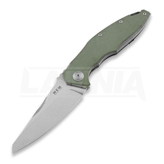 MKM Knives Raut front flipper סכין מתקפלת, ירוק