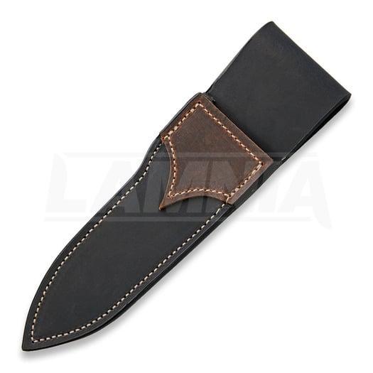 Lon Humphrey Custom Knives Alpha Bushcraft Black Micarta peilis