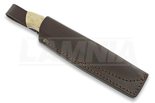 Brisa Trapper 115 סכין, Elmax Scandi, curly birch