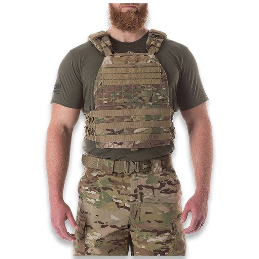 5.11 Tactical TacTec Plate Carrier, multicam