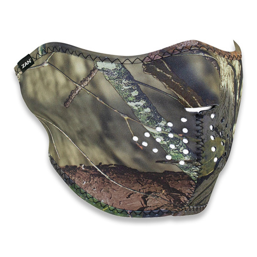 Zan Headgear Half Face Mask Mossy Oak