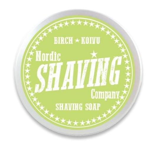 Nordic Shaving Company Shaving Soap Birch 80g
