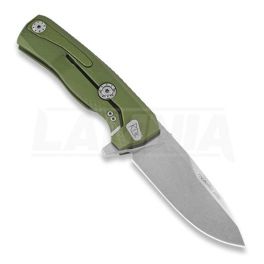 Lionsteel ROK Aluminium sulankstomas peilis, od green, LAMNIA EXCLUSIVE ROKAGSW