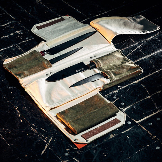 Knife to Meet You Bag Quattro - 4 Kitchen Knives