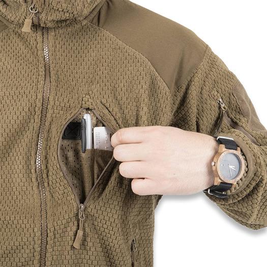 Helikon-Tex Alpha Hoodie jacket, coyote