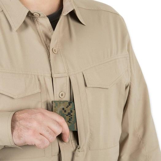 Helikon-Tex Defender Mk2 Tropical Shirt, silver mink
