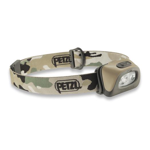 Petzl Tactikka+ RGB Led headlamp, camo