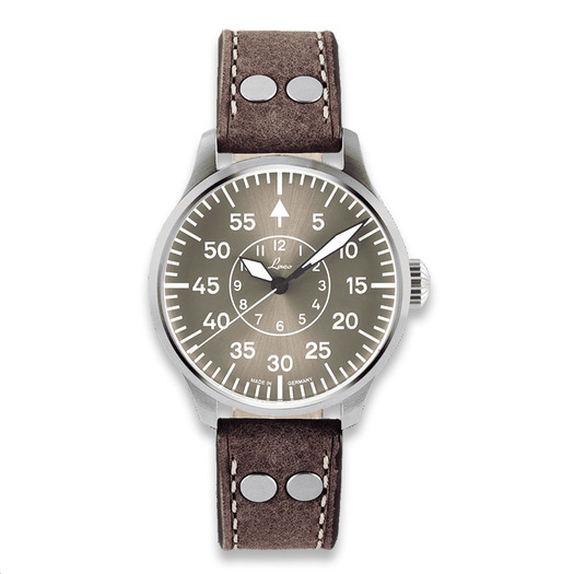 Laco Aachen Taupe pilot watch