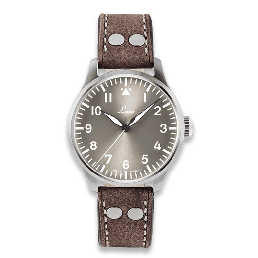 Laco Augsburg 42 Taupe pilot watch