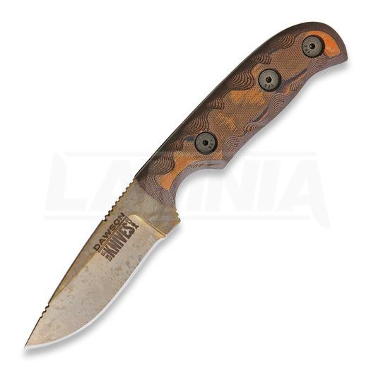 Dawson Knives Deep Notch, arizona copper