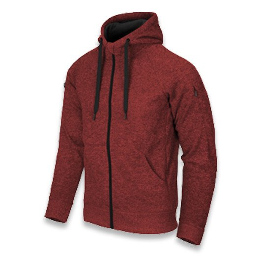Helikon-Tex Covert Tactical Hoodie, red melange BL-CHF-SF-M5