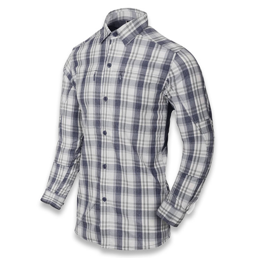Helikon-Tex Trip Shirt, indico plaid I-NB-P8