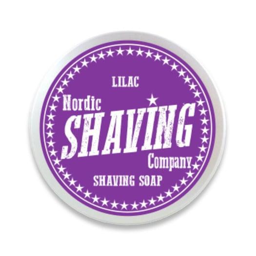 Nordic Shaving Company Shaving Soap Lilac 80g