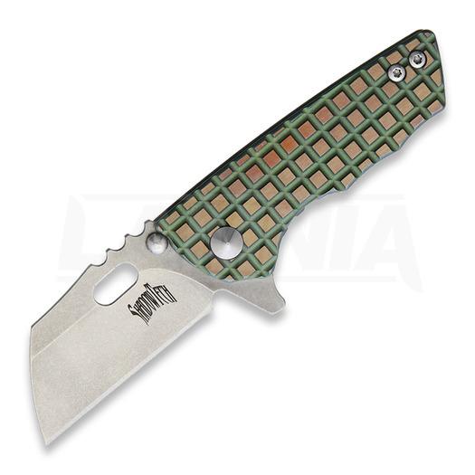 Πτυσσόμενο μαχαίρι Shadow Tech Sidekick Framelock, green/gold