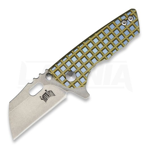 Shadow Tech Sidekick Framelock Taschenmesser, blue/gold
