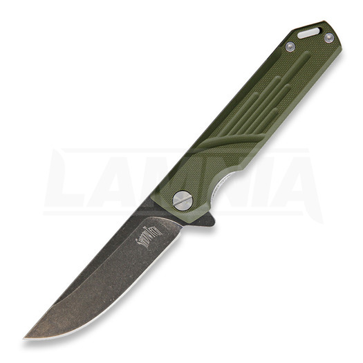 Briceag Shadow Tech Navajo Linerlock, verde
