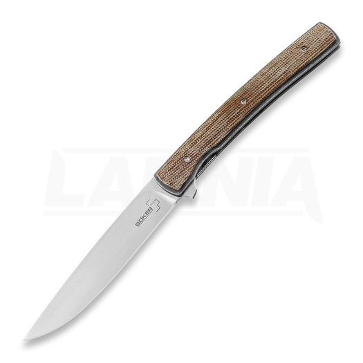 Böker Plus Urban Trapper Gentleman Micarta folding knife 01BO722SOI