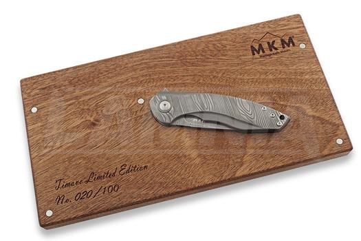 MKM Knives Timavo Damasteel folding knife