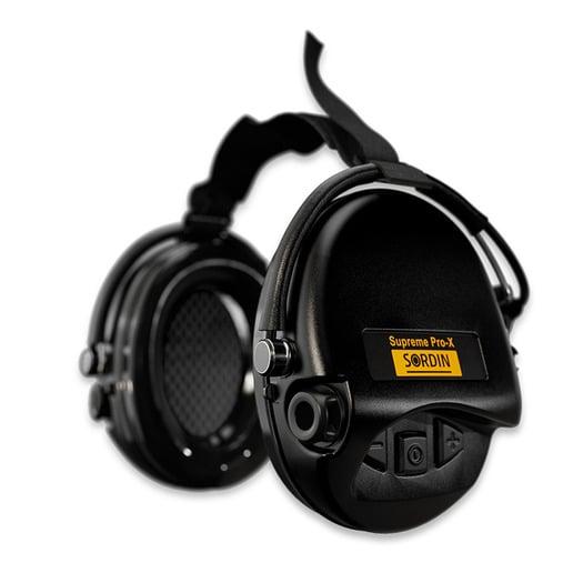 Cache-oreilles Sordin Supreme Pro X, neckband, noir 76302-X-02-S