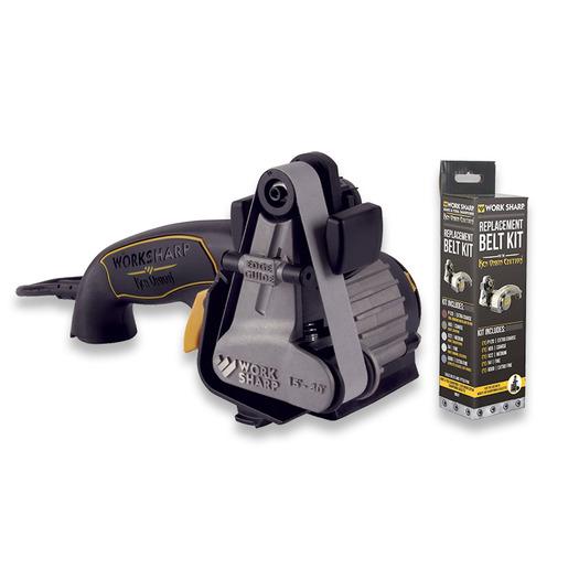 Work Sharp Ken Onion knife sharpener + belt kit bundle