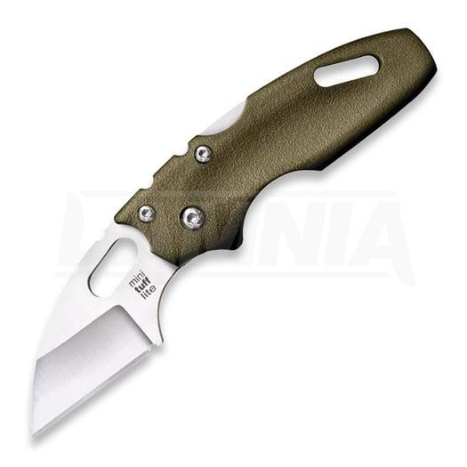 Couteau pliant Cold Steel Mini Tuff Lite Plain Edge, vert 20MTGD