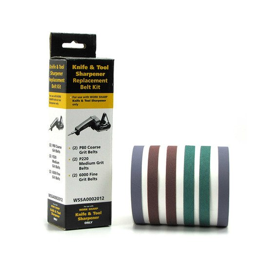 Work Sharp Belt Kit for Knife & Tool Sharpener, all grits