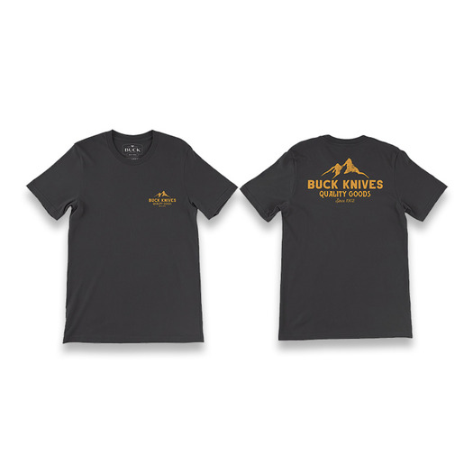T-shirt Buck Quality Goods Logo