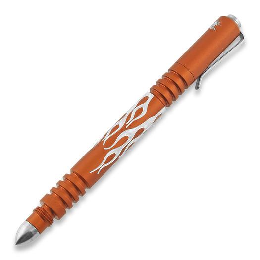 Hinderer Investigator Pen Flames tactische pen, matte orange