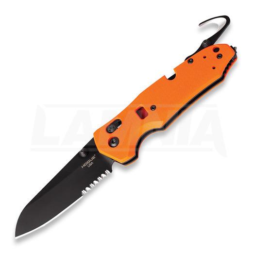Hogue Trauma First Response Tool 折り畳みナイフ, オレンジ色