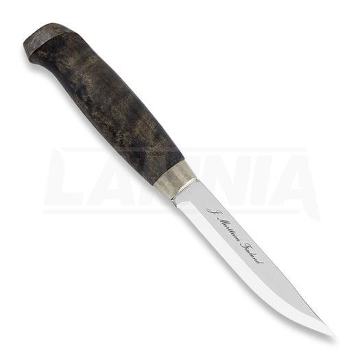 Marttiini Lynx 131 dark waxed Lamnia Edition knife 131019
