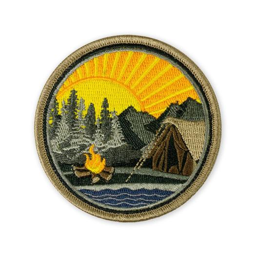 Terrain 365 Mountain Lake Campsite Morale Patch - v1