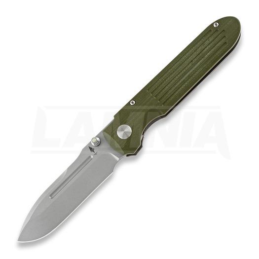 Terrain 365 Invictus AT folding knife, OD Green G10