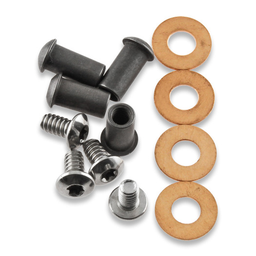 Squid Industries Hardware Kit Nautilus Silver