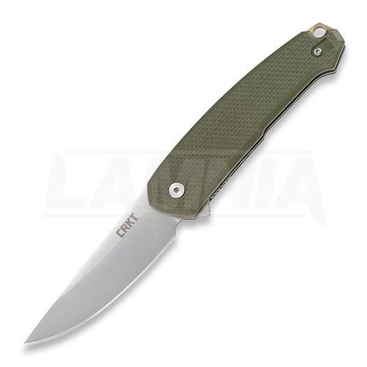 CRKT Tueto A/O Taschenmesser, olivgrün 5325
