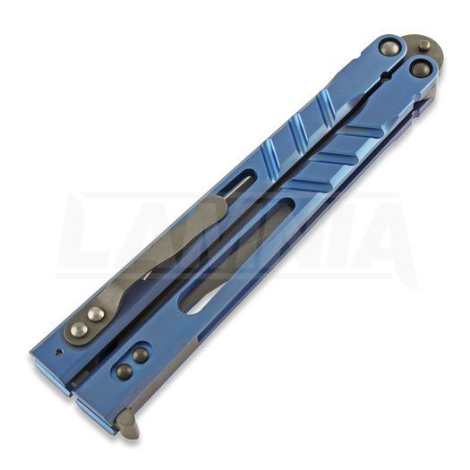 BRS Alpha Beast Premium ALT butterfly knife, blue