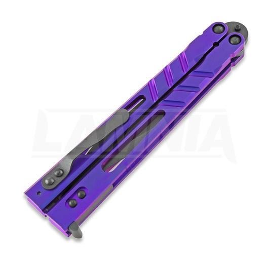 BRS Alpha Beast Premium ALT butterfly knife, purple