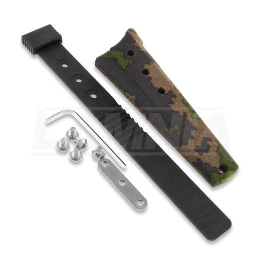 Rokka Korpisoturi knife, M05 camo sheath