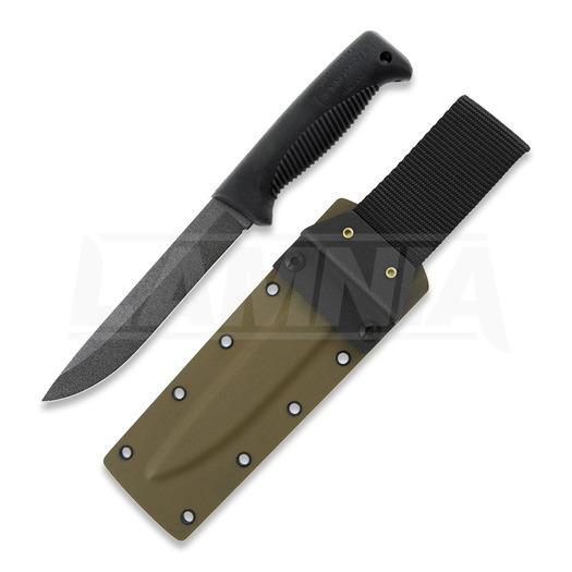 J-P Peltonen Sissipuukko M95 knife, coyote kydex sheath