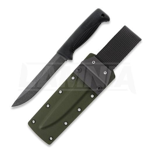 J-P Peltonen Sissipuukko M95 knife, olive kydex sheath