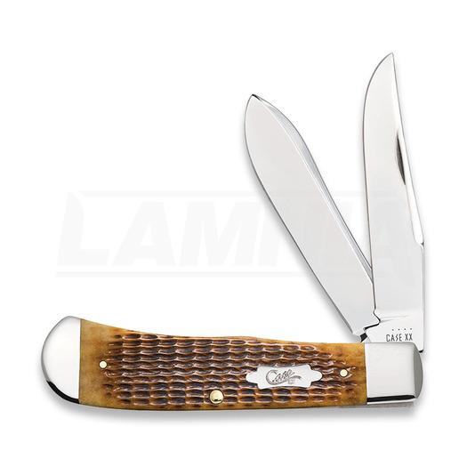 Pocket knife Case Cutlery Antique Bone Rogers Corn Cob Jig Panama 52835