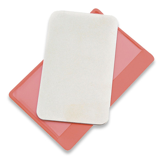 DMT Dia-Sharp Credit Card pocket sharpener, red