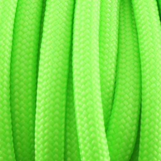 Paracord 550, Neon Green 30,5m